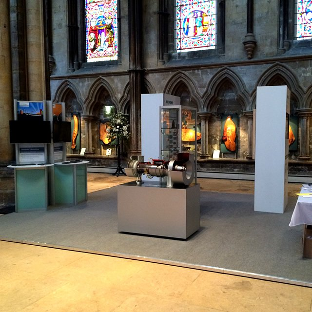 siemens - day hire event stand